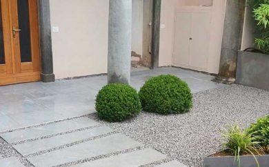 Villa-privata-Gravelfix-e-granulati-di-Granulati-Zandobbio